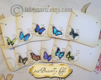 24•BUTTERFLY MIX•Necklace Cards•Jewelry cards•Necklace Card•Display•Earring Holder•Necklace Holder