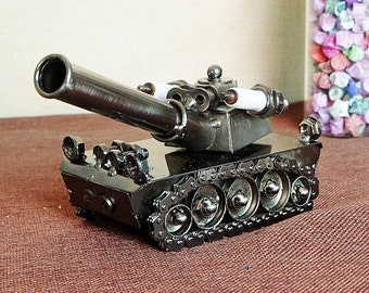 Metal Art Attack Tank, Gift, Home Decor