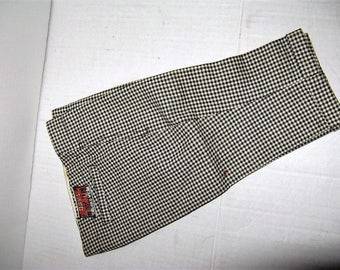 """Antique Vintage 1910-20's Salesman's Sample Houndstooth Trousers, Day's """"Tailor-d Wear"""""""