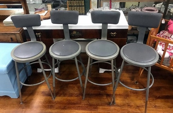 Industrial adjustable stools