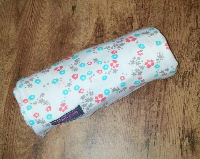 Organic Cotton Floral Baby Blanket