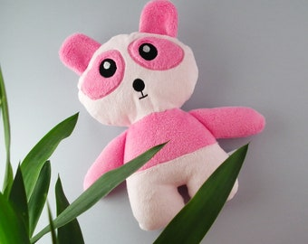 Pandayay - pink panda - soft toy - cuddle friend - plush toy - stuffed animal
