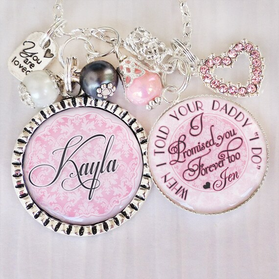 Best Wedding Gift For Girl: Step Daughter Wedding Gift Flower Girl Necklace