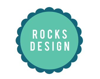 Bespoke Rocks Design Print