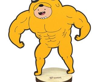 Adventure time Finn Figurine on a stand charm
