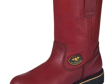 Work boot C/helmet General 113TR Skin Grasso wine ID 31328