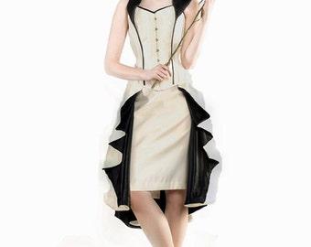 "Retro Corset Dress (waist 22"")"