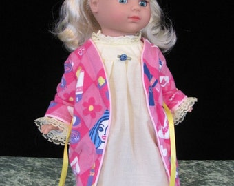 18 inch Doll Nightgown or PJs with Robe CUSTOM ORDER
