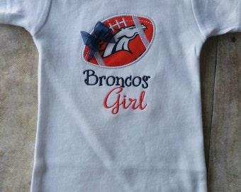 Denver Broncos Girl Shirt