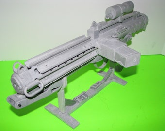 E-11 Blaster Rifle 3D Printed ABS Model Kit Stormtrooper ROTJ Screen Accurate Movie Prop Replica DIY w/ Optional Lights/Sound