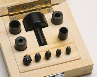 Claw Setting Tool Set 9 Jig Set Make Your Own Claw Housed in Wooden Box