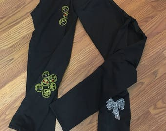 Black sport pants with brushed lining