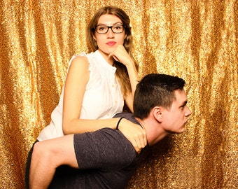 Copper Sequin Photography Backdrop/Photo Booth Backdrop