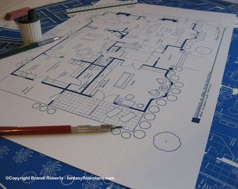 Cheers pub tv show floor plan blueprint poster fictional bree van de kamp home tv show floor plan wisteria lane fairview desperate housewives blueprint wall art gift for architects malvernweather