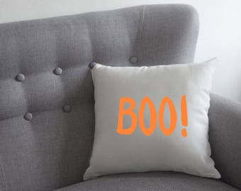 Boo! Halloween Cushion