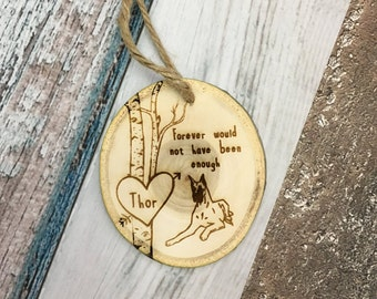 Pet Memorial Ornament | Dog Sympathy Gift | Loss of Pet Gift | Remembrance Ornament | Pet Owner Gifts | In Memory of Dog | Pet Keepsake