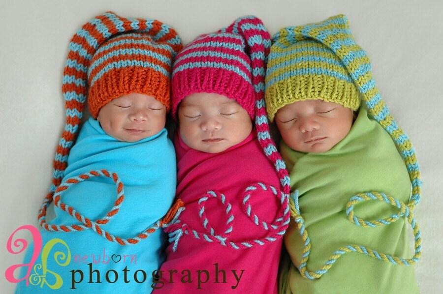 Newborn Baby Boy Knit Hat Patterns Red