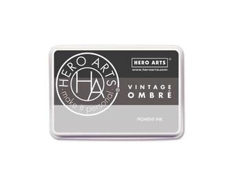 Hero Arts Ombre Vintage Metallic Steel AF347