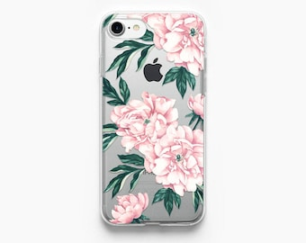 iPhone 8 Case Peonies iPhone 7 Case Flowers iPhone X Case iPhone 6 Case Peony iPhone 6s Case iPhone Case iPhone 6 Plus Case Floral i Phone