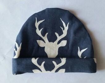 Stag Newborn Hat, Buck Newborn Hat