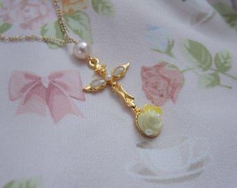 A Taste of Lemon Sherbet | Dessert Spoon Necklace
