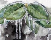 Winter Painting - Print f...