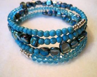 Singing the Blues Bracelet