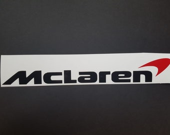 McLaren logo sticker/ vinyl decal