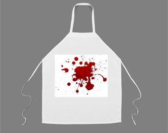 BLOOD SPATTER Apron #1179