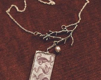 E5 4 dragon necklace
