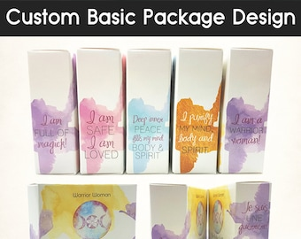 Custom Basic Professional Product Package Design