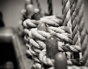 Still Life Boat Lines -  Photography -  8x12