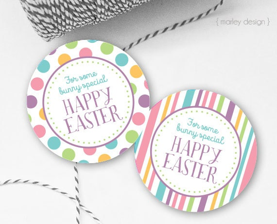Easter tags printable easter favor tags easter gift tags happy easter tags printable easter favor tags easter gift tags happy easter tags instant download easter printables digital easter tags negle Image collections