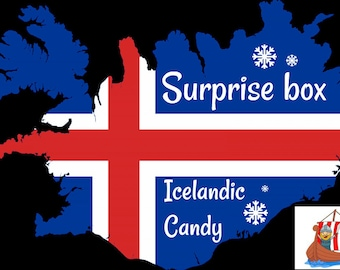 Surprise candy box from Iceland! Free shiping