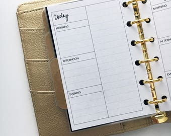 Pocket Size Planner Inserts - Daily