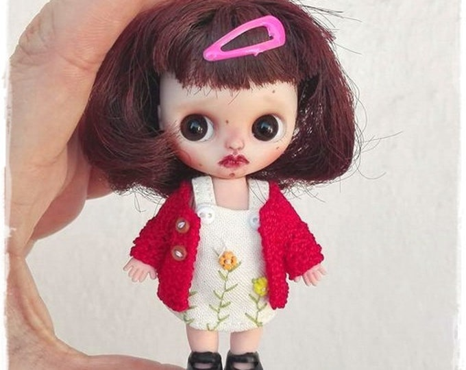 EVIE Petite Blythe custom doll by Antique Shop Dolls
