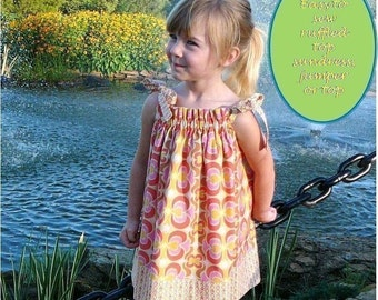 Easy Summer Sun Dress Pattern - SEW CUTE Dress, Jumper or Sundress PDF Sewing Pattern