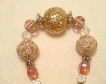 """SALE - DESTASH - Jesse James Beads, 7"""" Strand, As Pictured, DIY Jewelry, Jewelry Findings"""