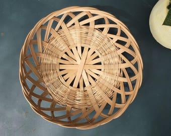 Set of two Vintage, 70s France baskets
