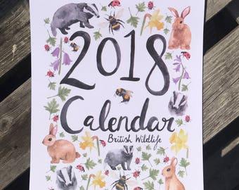 British Wildlife Calendar