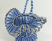 Handmade Vintage Blue and...