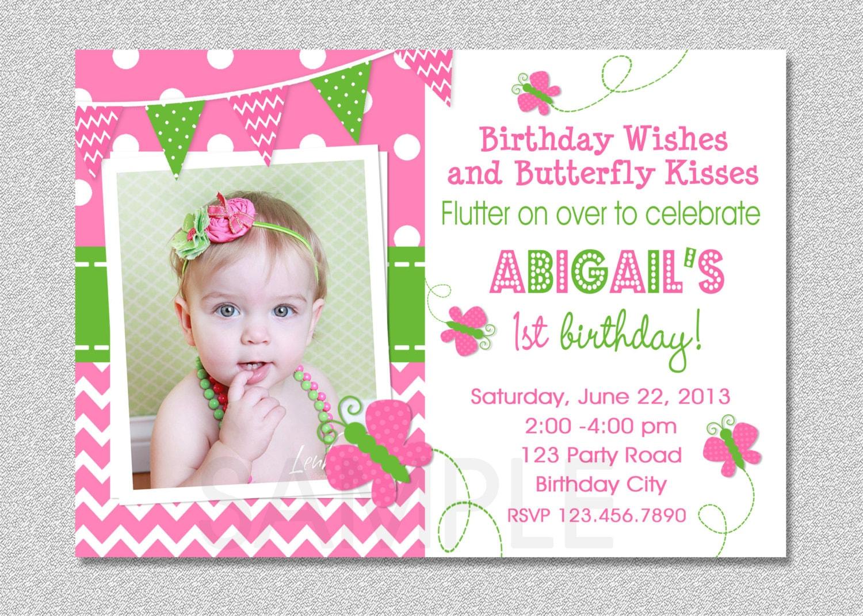 birthday invitations for girl