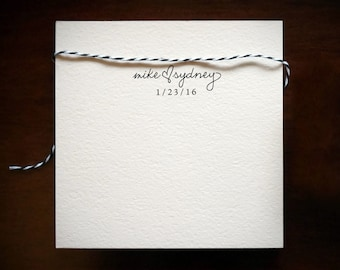 Personalized Wedding Stamp