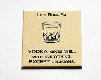 Wodka, Lustige Trinken Magnet, Lustige Magnet, Küche Magnet, Magnet,  Kühlschrankmagnet,