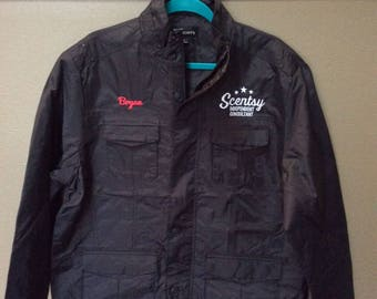 Authorized Scentsy Vendor Mens Fall Lined Four-Pocket Consultant Jacket L-2XL
