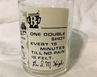 Vintage Kansas City shot glass
