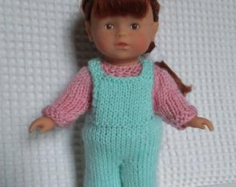 Mini garment corolline, jumper and overalls