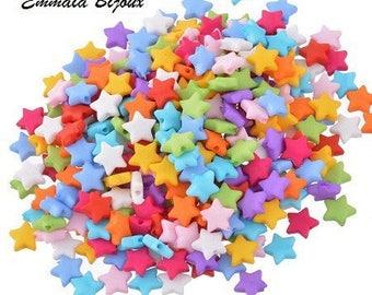 Star 9 x 9 mm 50 beads