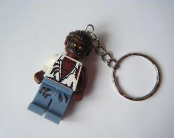 Door keys Lego Figurine werewolf ♥ ♥