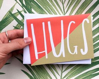 HUGS card cc